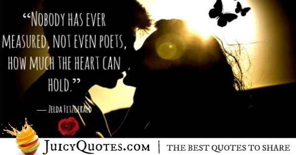 Cute Love Quote - Zelda Fitzgerald