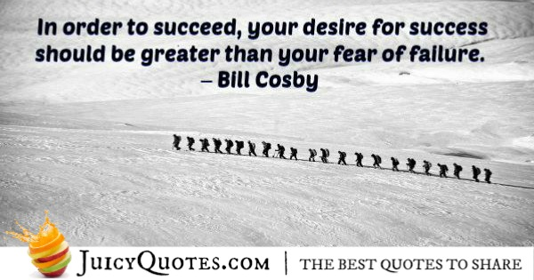 Quote About Inspiration - Bill Cosby