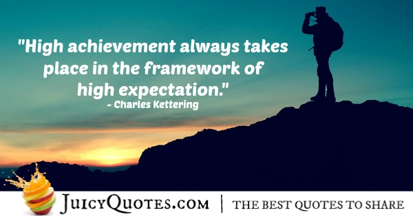 Quote About Inspiration - Charles Kettering