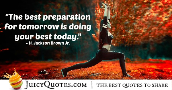 Quote About Inspiration - H. Jackson Brown Jr.