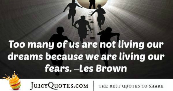 Quote About Inspiration - Les Brown