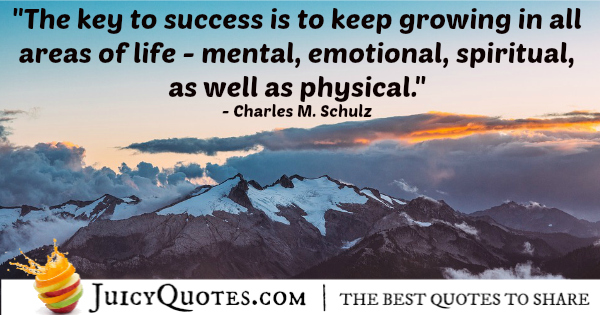 Quote About Life - Charles M. Schulz