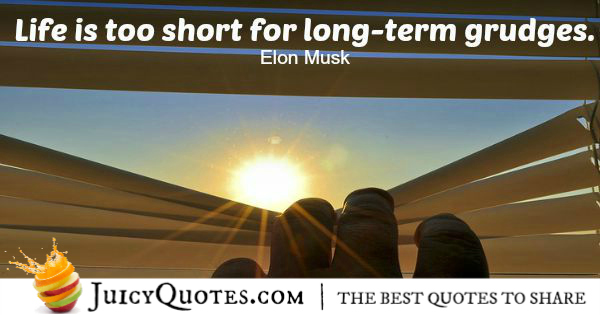 Quote About Life - Elon Musk