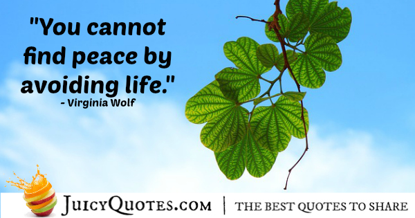Quote About Life - Virginia Wolf