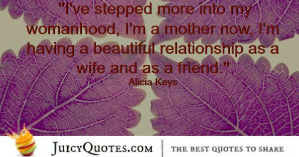 Quotes About Relationships - Alicia Keys