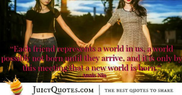 Quotes About Relationships - Anais Nin
