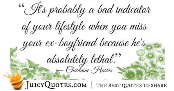 Quotes About Relationships - Charlaine Harris