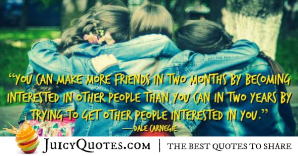 Quotes About Relationships - Dale Carnegie