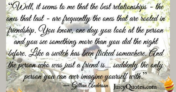 Quotes About Relationships - Gillian Aderson