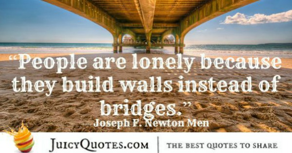 Quotes About Relationships - Joseph F Newton Men