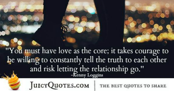 Quotes About Relationships - Kenny Loggins