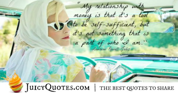 Quotes About Relationships - Laurene Powell Jobs