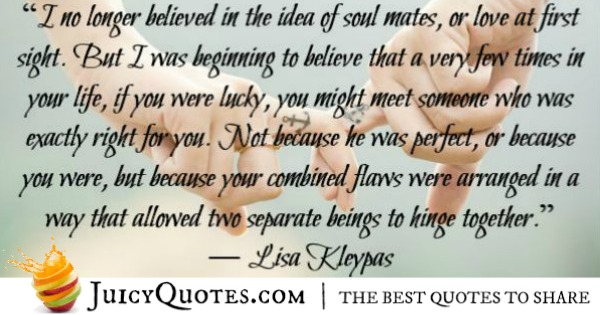 Quotes About Relationships - Lisa Kleypas