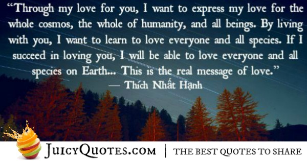 Quotes About Relationships - Thich Nhat Hanh