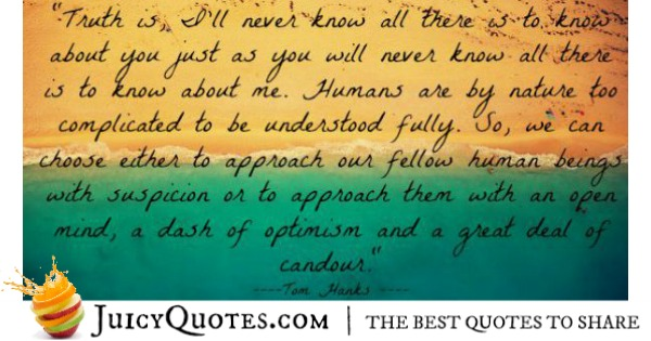 Quotes About Relationships - Tom Hanks