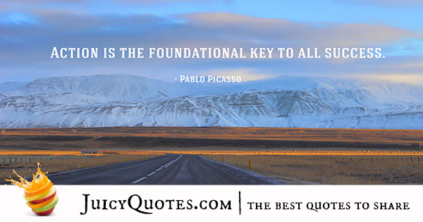 inspirational-quote - pablo picasso