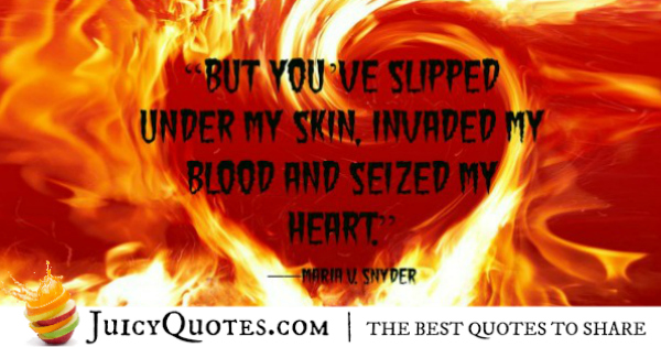 Cute Love Quote - Maria V, Snyder