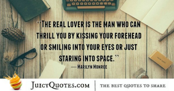 Cute Love Quote - Marilyn Monroe 2