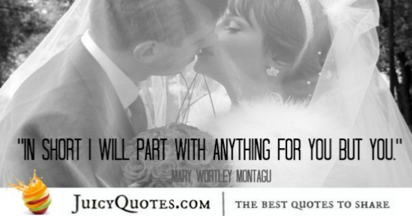 Cute Love Quote - mary wortley montagu