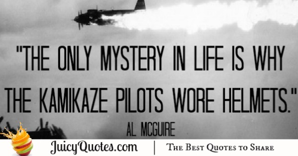 Funny Quote - Al McGuire