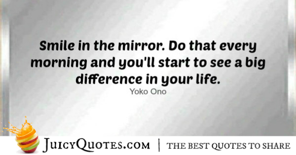 Good Morning Quote - Yoko Ono