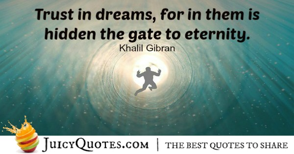 Positive Saying - Khalil Gibran