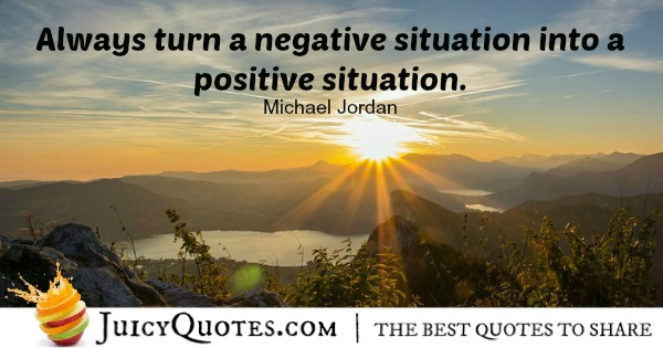 Positive Saying - Michael Jordan