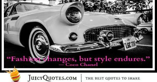 Quote About Change - Coco Chanel
