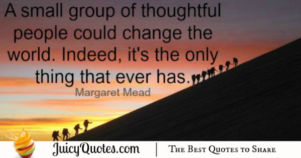 Quote About Change - Margaret Mead 2