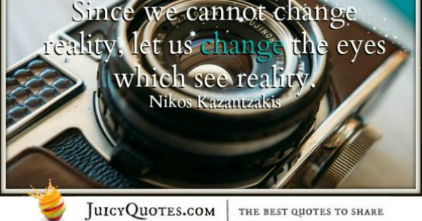 Quote About Change - Nikos Kazantzakis