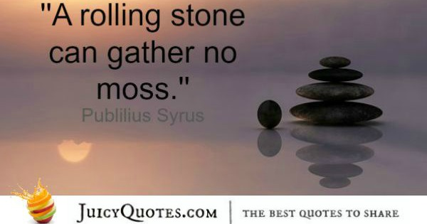 Quote About Change - Publilius Syrus