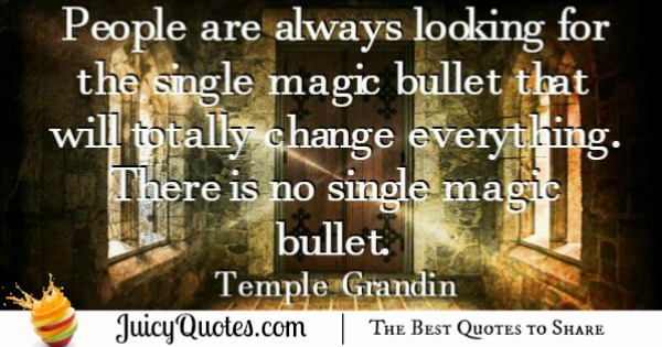 Quote About Change - Temple Grandin