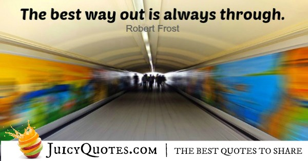 Quote About Inspiration - Robert Frost