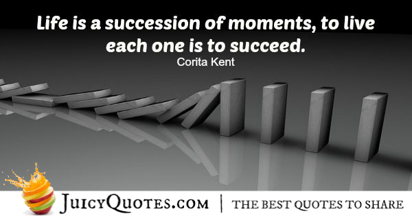 Quote About Life - Corita Kent