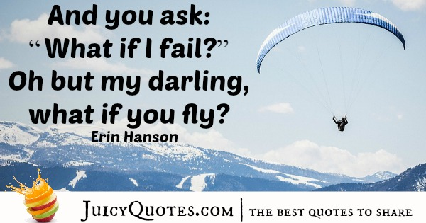 Quote About Inspiration - Erin Hanson