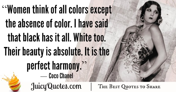 Quote About Beauty - Coco Chanel 3