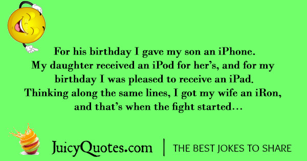 Funny Birthday Joke - 5