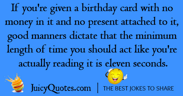 Funny Birthday Joke - 9