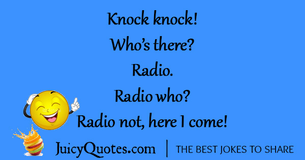 Funny Knock Knock Jokes -18
