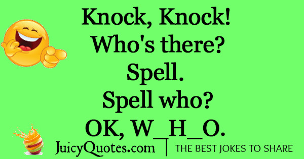 Funny Knock Knock Jokes -6