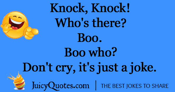 Funny Knock Knock Joke - 8 - (With Picture)