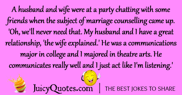 Funny Marriage Joke - 52