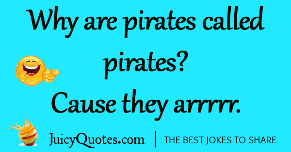 Funny Pirate Joke - 1