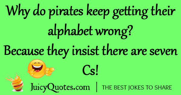Funny Pirate Joke - 11