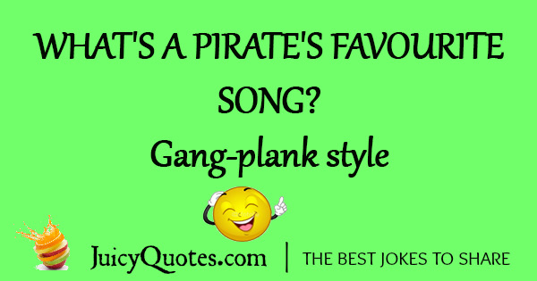 Funny Pirate Joke - 14A