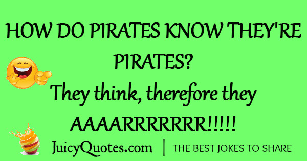 Funny Pirate Joke - 15