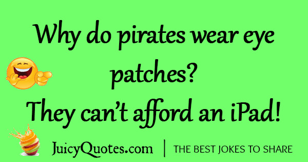 Funny Pirate Joke - 16