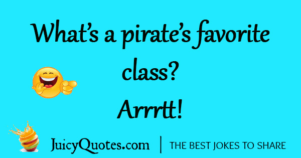 Funny Pirate Joke - 17