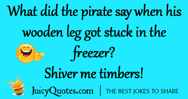 Funny Pirate Joke - 2