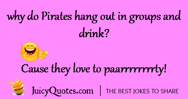 Funny Pirate Joke - 20